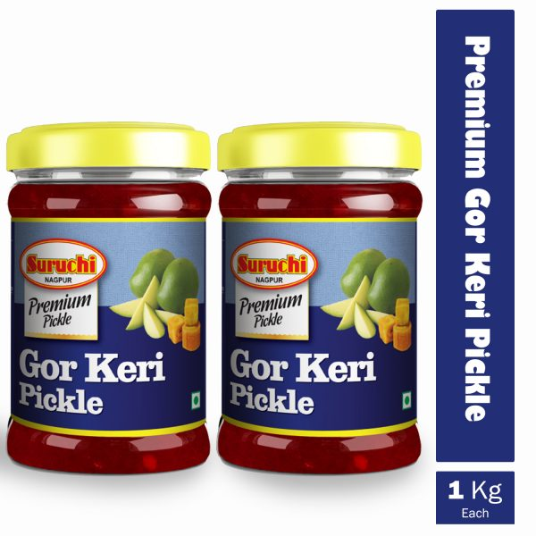 Premium Gor Keri Pickle (Pack Of2)-2kg